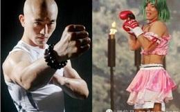 """Con Rồng Trung Quốc bị võ sĩ """"ái nam ái nữ"""" đánh ngã sấp mặt"""