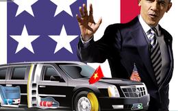 Siêu xe của TT Mỹ nếu phạm luật giao thông thì có bị phạt không?