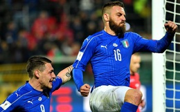 Italia chật vật đả bại đối thủ dưới cơ, mong manh cơ hội dự World Cup 2018