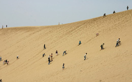 Không chỉ ở châu Phi, Nhật Bản cũng có sa mạc với những cồn cát cao hơn 50m