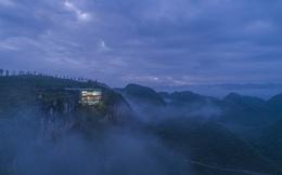 Resort cheo leo trên vách núi đẹp lung linh trên báo Mỹ