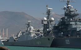 """Hải quân VN đón liền 2 tàu Gepard hiện đại: Chiếc thứ 4 đã """"leo"""" lên Rolldock Star"""