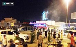 Thiếu tá CSGT bị xe tải tông chết sau khi bám gương chiếu hậu