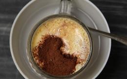 Cà phê trứng - thứ đồ uống kì lạ, uống một lần là nhớ mãi!