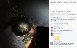 Chiếc ô của người lạ trong đêm Hà Nội mưa to gây sốt mạng xã hội