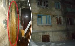 Người dân Nga khốn đốn vì phải sống chung với nước tiểu và chất thải đóng băng quanh nhà