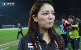 Mỹ nhân Thái Lan khóc như trẻ con khi đội nhà vô địch SEA Games
