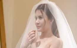 Nhan sắc lộng lẫy của vợ MC Thành Trung khi diện váy cưới