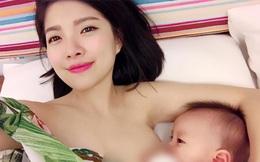 Vừa cho con bú vừa selfie khoe thanh xuân phơi phới, mẹ sữa bất ngờ nổi tiếng thế giới