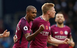 5 phút điên rồ, trận cầu mãn nhãn, và Man City tiếp mạch xưng bá Premier League