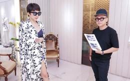 """Tóc Tiên háo hức thử đồ để diễn tại """"MAMA 2017"""""""