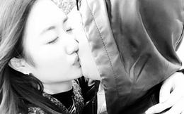 Hoa hậu Thu Ngân hôn tình cảm chồng đại gia hơn 19 tuổi