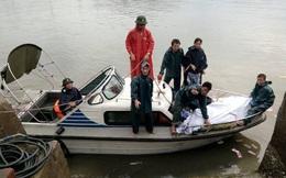 7 giờ vượt 200 hải lý đưa thuyền viên bị nạn vào bờ cấp cứu