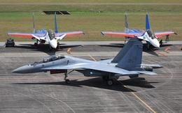 Su-30SM hoàn thành xuất sắc nhiệm vụ - Về Việt Nam