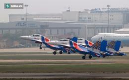 Hé lộ những điều đặc biệt về hành trình đến Việt Nam của phi đội Su-30SM Hiệp sĩ Nga
