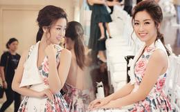 Hoa hậu Đỗ Mỹ Linh xinh đẹp nổi bật