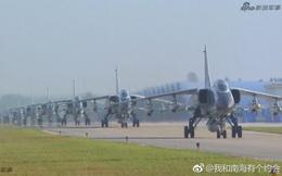 """Trung Quốc đe dọa quốc gia nào ở Biển Đông khi cho JH-7 trình diễn """"Voi đi bộ""""?"""