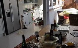 """Trở về sau một ngày đi vắng, chủ nhà thất kinh phát hiện """"khách không mời"""" trong bếp"""