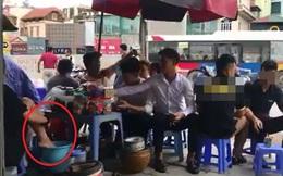 Sự thật về clip cô gái rửa chân trong xô đựng nước pha trà đá ở Hà Nội