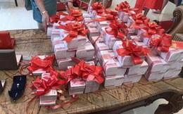 Sợ không ai biết mình giàu, đại gia Trung Quốc tặng con hơn 18 tỷ đồng tiền mặt làm hồi môn
