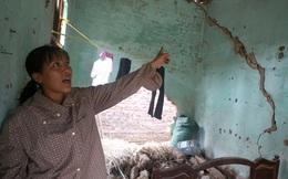 Hà Nội: Nhà dân gần cầu đang xây bị lún, nứt, ở trong nhà như ngoài trời