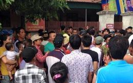 Nghệ An: Hàng trăm người dân vây bắt một phụ nữ nghi bắt cóc trẻ con