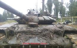 Tai nạn hy hữu: Xe tăng T-72B3 uống no nước khi tập vượt sông