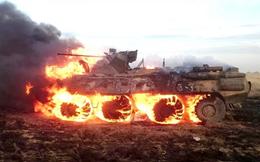 Bất cẩn khi nấu ăn, lính Nga đốt trụi xe thiết giáp BTR-82A