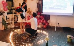 Ngưỡng mộ chàng trai dành 1 năm để chuẩn bị màn cầu hôn lãng mạn với nến và hoa