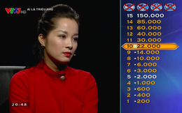 """Nữ chính """"Nhật ký Vàng Anh"""" gây tranh cãi khi thi """"Ai là triệu phú"""""""