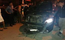 Hải Phòng: Người dân truy đuổi tài xế xe Camry gây tai nạn liên hoàn