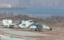 Máy bay cảnh báo sớm trên hạm của Trung Quốc chính thức lộ diện