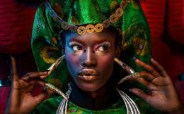 Người mẫu Châu Phi gây ấn tượng mạnh với áo dài Việt