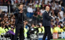 Lửa và băng ở Bernabeu: Khi Simeone-Zidane là hai thái cực đối lập