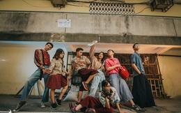 Nhóm bạn thân khiến nhiếp ảnh trầm trồ còn người dân xung quanh thì tò mò, bật cười