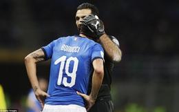 """Italia sụp đổ trước ngưỡng cửa World Cup: """"Báo ứng"""" từ con số 0?"""