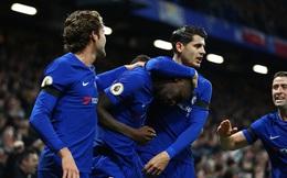 Morata nối gót Lukaku, Chelsea vẫn kiếm đủ chỉ tiêu trong ngày may mắn