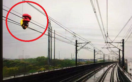 Vật thể lạ bất ngờ xuất hiện, cả chuyến tàu chở hàng nghìn người không thể khởi hành