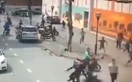 Trinh sát nổ súng vây bắt nhóm chuyên dùng xe phân khối lớn đi trộm ở Sài Gòn