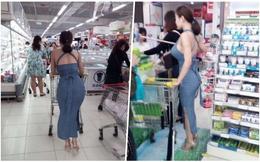 Theo dấu cô nàng nóng bỏng nhất siêu thị vì 3 vòng quá gợi cảm