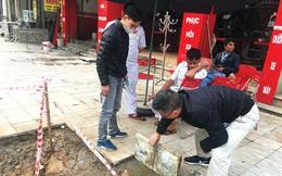 Cận cảnh 'phong trào' lát đá vỉa hè tại Hà Nội