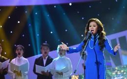 Diễn viên hài Lê Giang dính sự cố khi khoe giọng hát trên VTV