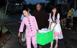 Thúy Nga và Kavie Trần về Việt Nam làm từ thiện