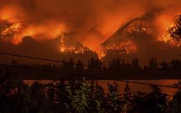 24h qua ảnh: Cháy rừng đỏ rực như ngày tận thế ở Mỹ