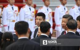 Nhận diện gương mặt đặc biệt trong đội cận vệ tinh nhuệ theo ông Tập sang thăm Việt Nam