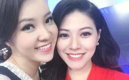 Đôi bạn thân Ngọc Trinh - Thụy Vân cạnh tranh nhau tại VTV Awards
