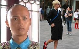 Sao nam nổi tiếng có sở thích quái dị: Mặc váy, trang điểm lòe loẹt