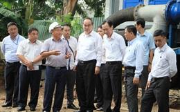 Thử nghiệm thành công 'siêu máy bơm' chống ngập ở Sài Gòn