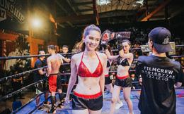 """Ngọc Trinh làm Ring Girl, """"đốt nóng"""" sàn võ Coco Championship tại Đà Nẵng"""