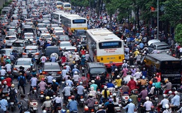 95/96 đại biểu HĐND tán thành lộ trình cấm hoàn toàn xe máy ở nội thành Hà Nội
